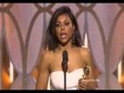 Taraji P. Henson Wins Best Actress Tv Series Drama Golden globes 2016