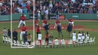 David Ortiz throws first pitch about 20 feet too high