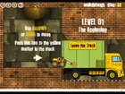 Run the truck escavator driving racing cars kids games