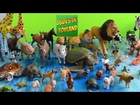 Farm animal toys collection, zoo animals for children & toddlers toy videos