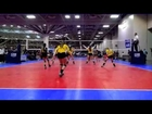 Ashley Smith, Libero #27 Club Volleyball Video 1