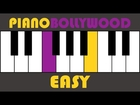 Do Dil Mil Rahein Hain [Pardes] - Easy PIANO TUTORIAL - Stanza [Left Hand]