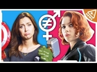 Does Marvel have a Gender Inequality Problem? (Nerdist News w/ Jessica Chobot)