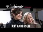 Daisy Lowe at J.W. Anderson Fall/Winter 2014-15 Front Row | London Fashion Week LFW | FashionTV