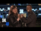 SNL's Aidy Bryant and Host Kevin Hart Fall in Love