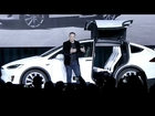 Elon Musk launches Tesla Model X (9.29.15)