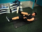 Abs+Cardio workout 4: Air Bike with medicine ball