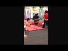 My gym- backward roll