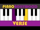 Zoobi Doobi [3 Idiots] - Easy PIANO TUTORIAL - Verse [Both Hands]