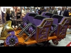 Twisted Colossus Train Reveal Six Flags Magic Mountain IAAPA 2014