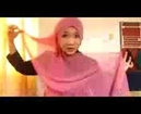 HIJAB TUTORIAL - Cara Memakai Jilbab Segi Empat Pasmina Cepat Cuma 1 Menit
