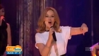 Kylie Minogue - Sexy Love &  Into the Blue -Today Show Australia 06.2014