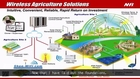 Precision farming and greenhouse automation - Smart Agriculture Solution wireless zigbee sensors