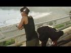 Dhanush KISSES Akshara Haasan's BUTT