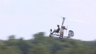 Video Surfaces of Man Talking About About Gyro-Copter Stunt